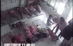 Vụ giáo viên xách một tay trẻ ném xuống sàn: Cô giáo phân trần thế nào?