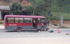 Ô tô khách đâm trực diện hai người đi xe máy, tử vong tại chỗ