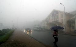 Dự báo thời tiết ngày 29/3: Bắc Bộ trời rét, sương mù