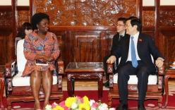 Đối phó hạn xâm nhập mặn, Chủ tịch nước mong WB hỗ trợ Việt Nam