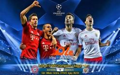 Kết quả Bayern Munich vs Benfica - tứ kết Champions League