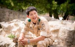 Hậu Duệ Mặt Trời: Cảnh hậu trường cực đáng yêu của Song Hye Kyo và Song Joong Ki
