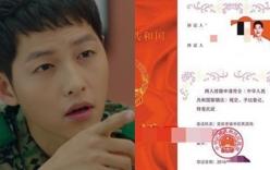 Fan cuồng làm giả Giấy chứng nhận kết hôn với Song Joong Ki