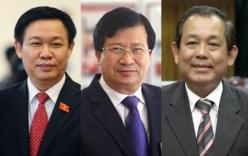 Tóm tắt tiểu sử 3 Tân Phó Thủ tướng