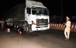 Tai nạn giao thông, cán bộ huyện bị xe đầu kéo cán tử vong