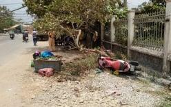 Truy đuổi tên cướp, người phụ nữ lao vào gốc cây bất tỉnh