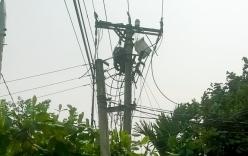 Bất lực chứng kiến một công nhân bị điện giật tử vong