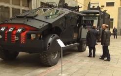 Video: Nga triển khai xe đặc chủng chống khủng bố ở Dagestan