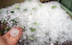 Mưa đá tại Hà Giang khiến cháu bé 3 tuổi tử vong