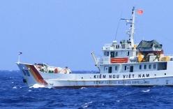 Kiểm ngư xua đuổi tàu cá Trung Quốc vào vùng biển Việt Nam