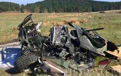 Video: Sự cố khi nhảy dù, 3 xe bọc thép Mỹ vỡ tan xác