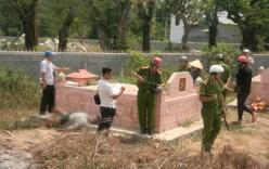 Phát hiện thi thể người đàn ông cạnh ngôi mộ