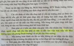 Thái Nguyên: Trường học bắt tiệm ảnh trả phí khi chụp ảnh kỷ yếu?