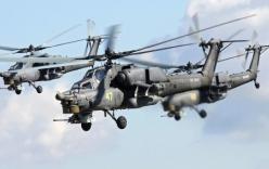 Video: Trực thăng Nga yểm trợ đặc nhiệm Tiger tấn công IS