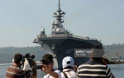Tàu chiến Nhật tới Phillippines giữa lúc căng thẳng Biển Đông
