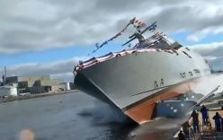 Video: Những màn hạ thủy tàu thành công và thảm họa nhất