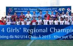 ĐT U14 nữ Việt Nam đặt mục tiêu cao tại Giải châu Á 2016