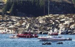 Rơi trực thăng Na Uy: Tìm thấy 11 thi thể