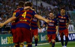 Tổng hợp trận đấu Real Betis 0-2 Barcelona: Giữ vững ngôi đầu