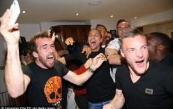 Cảm xúc thăng hoa của các cầu thủ Leicester City khi vô địch sớm