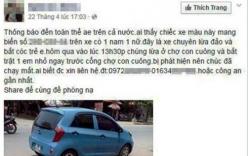 """Tung tin bắt cóc """"hụt"""" trẻ em trên Facebook, bị công an triệu tập"""