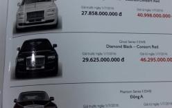 Rolls-Royce chính hãng có giá kỷ lục hơn 83 tỷ đồng sau 1/7