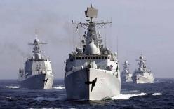 Tàu chiến, tàu ngầm Trung Quốc sắp tiến ra Biển Đông