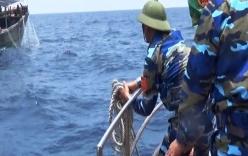 Buộc tàu cá TQ đánh bắt trộm ra khỏi vùng biển thuộc chủ quyền VN