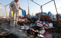Không kích trại tỵ nạn Syria, 28 người thiệt mạng