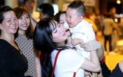 Vy Oanh tức giận trước tin đồn làm mẹ đơn thân
