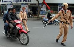 Mức phạt các lỗi vi phạm giao thông mới nhất đối với xe máy
