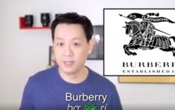 Thầy giáo đẹp trai hướng dẫn phát âm chuẩn các thương hiệu nổi tiếng