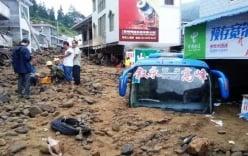 Lở đất tại Trung Quốc, 35 công nhân mất tích