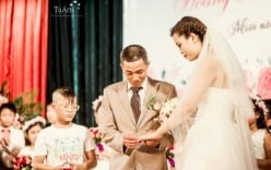 Đám cưới cổ tích của cô dâu mắc bệnh hiểm nghèo, xúc động dân mạng
