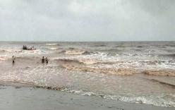Vụ 3 nam sinh mất tích khi tắm biển ở Nam Định: Tìm thấy 1 thi thể nạn nhân