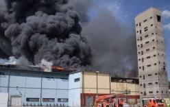 Cháy kho hàng chợ Đồng Xuân của người Việt tại Đức