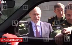 Video: Putin bật cười vì sự hấp tấp của một đại tướng