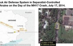 Lộ ảnh vệ tinh khẳng định tên lửa Buk bắn hạ máy bay MH17