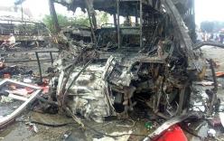 Video: Hiện trường vụ tai nạn thảm khốc ở Bình Thuận, 12 người chết