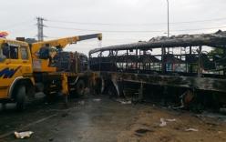 Vụ tai nạn ở Bình Thuận, 12 người chết: Thi thể nạn nhân cháy đen