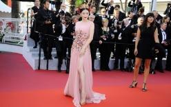 Lý Nhã Kỳ kiêu sa, nổi bật trên thảm đỏ LHP Cannes ngày cuối cùng