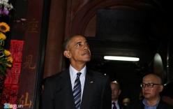 Tổng thống Mỹ Obama đến thăm chùa Ngọc Hoàng