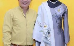 Cận cảnh áo dài hoa sen Việt Nam tặng phu nhân Tổng thống Mỹ Obama