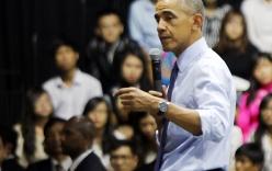 Video: Tổng thống Obama trò chuyện với hơn 800 bạn trẻ tại Sài Gòn