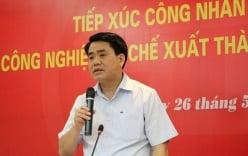 Chủ tịch TP Hà Nội Nguyễn Đức Chung công khai số điện thoại