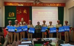 Bắc Giang thưởng nóng 8 chiến sĩ công an từ chối nhận hối lộ nửa tỷ