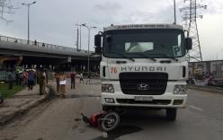 Tai nạn giao thông ở Sài Gòn, một phụ nữ chết thảm dưới bánh xe ben