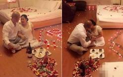 Đám cưới sứ của cặp đôi U50 TPHCM gây