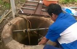 Sửa máy bơm, hai người chết ngạt dưới giếng ở Bình Thuận