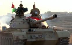 IS bị dàn tăng T-55 của lực lượng Peshmerga bủa vây ở Mosul